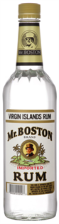 Mr. Boston Rum Light 1.00l - Case of 12